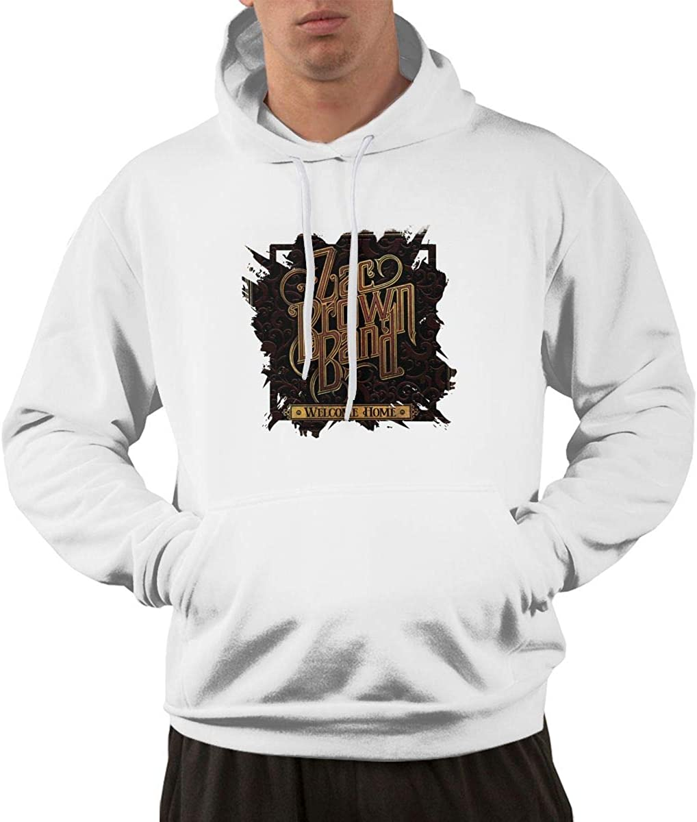 YOLO Zac Brown Band Welcome Home Mens Hoodie White