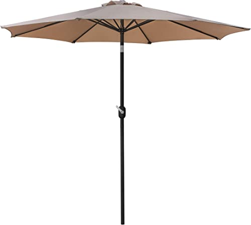 ZENY Patio Umbrella 9ft Outdoor Table Market Umbrella Sunshade