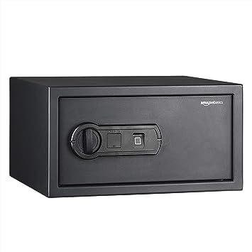 AmazonBasics - Caja fuerte con lector biométrico de huella ...