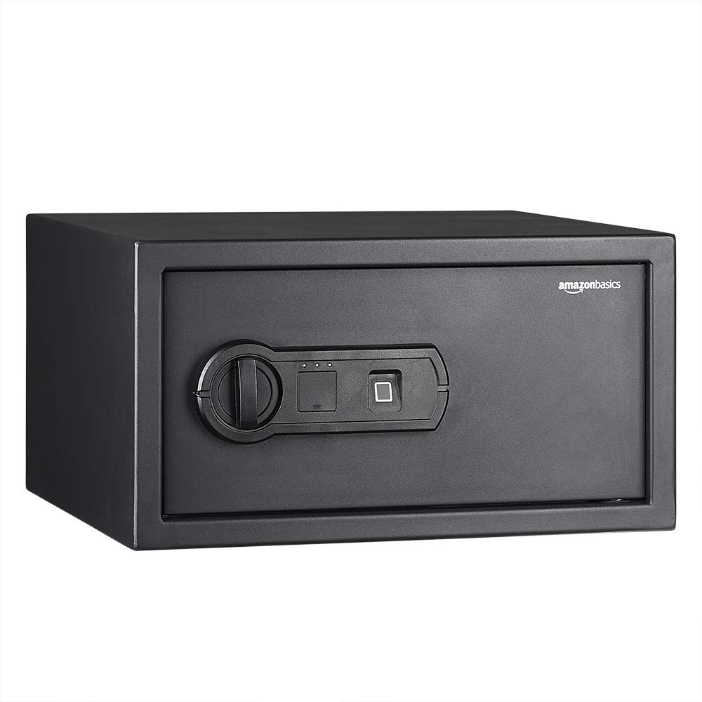 AmazonBasics Biometric Fingerprint Home Safe, 28 Liters (B079997BN6) Amazon Price History, Amazon Price Tracker