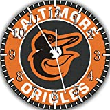 Orioles Frameless Borderless Wall Clock F37 Nice For Gift or Room Wall Decor