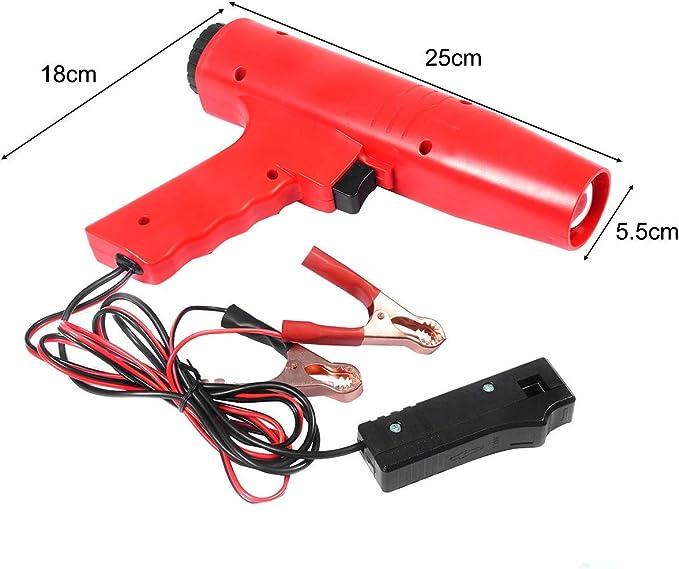 Costway Stroboskopleuchte Auto Pistole Stroboskop Licht 12v 8000r Min Auto