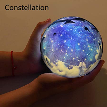 QingMuMu Cielo Estrellado Luz Nocturna Planeta Proyector mágico ...