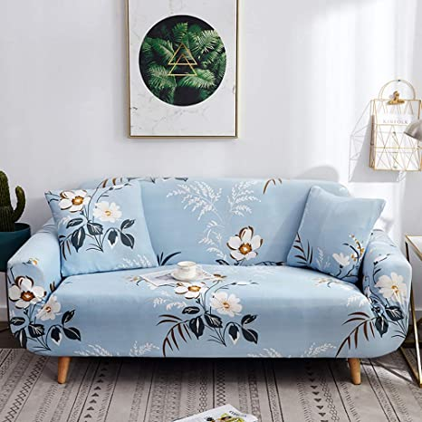 YEARGER - Funda para sofá Moderna y elástica con Estampado ...
