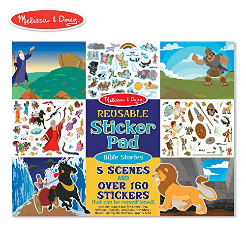 Melissa & Doug 9124 Bible Stories Reusable Sticker Pad -