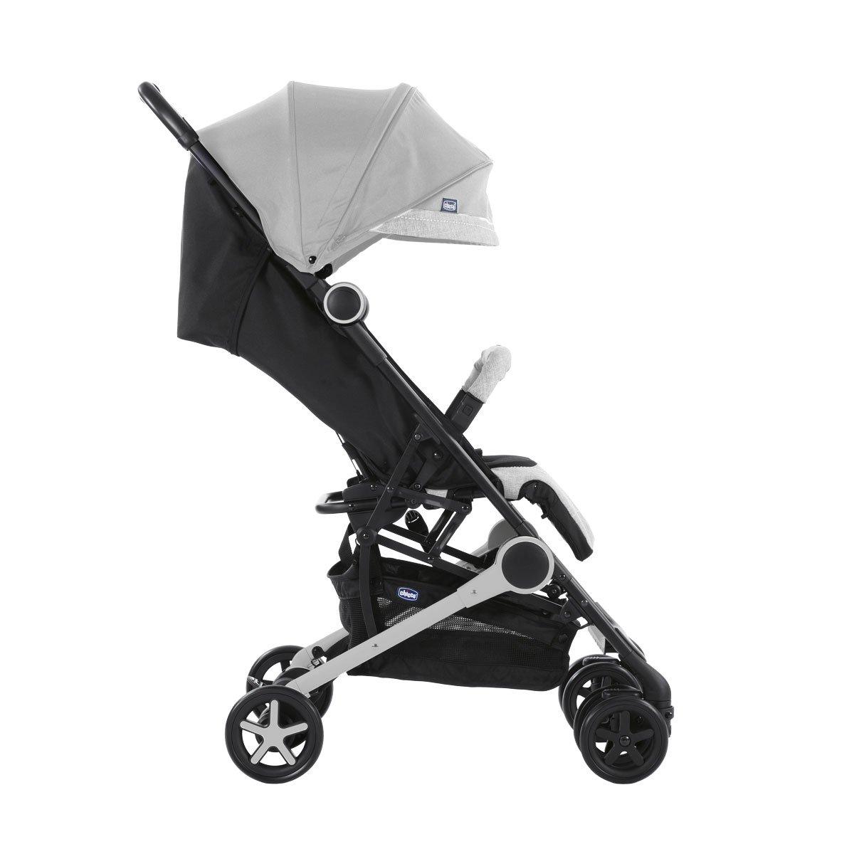 Chicco Miinimo2 - Silla de paseo ultracompacta y ligera, 6 kg, color gris