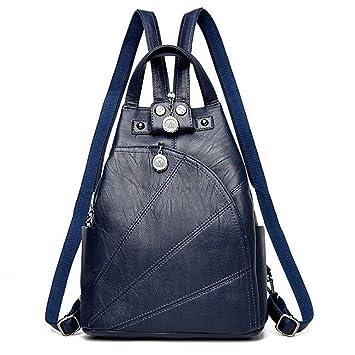 c079718a5a11f9 Fashion Mode Damen Rucksack PU Leder Damentasche Schultertasche Handbag  Rucksäcke Frauen Rucksack 2 in 1 Damen