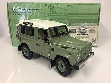 Land Rover Defender Matt Grün 1948 1//18 Minichamps Modell Auto mit oder ohne i..