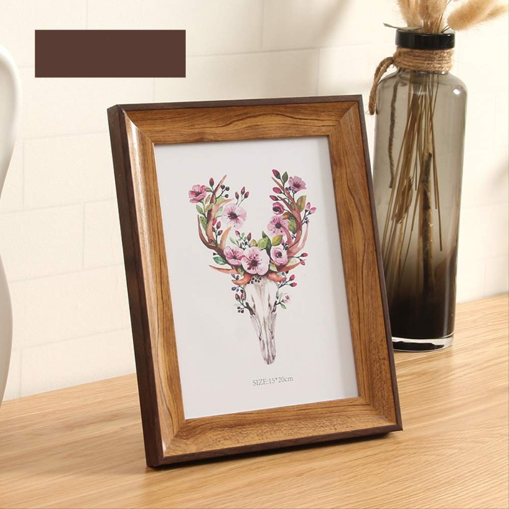 Coffee 12 inch YKDDII Picture Frames Modern Style Pictures Frame Classic Frame For Home Decoration Wall Hang Desktop Photo Frames For Pictures 8''10''12'' Classic Fashion Multifunction Photo Frame