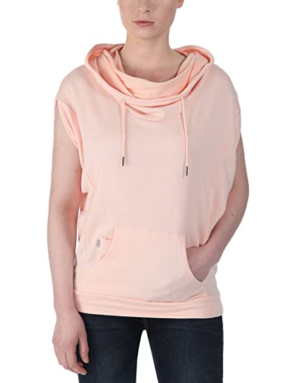 Bench Women s Encure Short Sleeve Hoodie  Amazon.co.uk  Clothing 181554f22