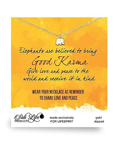 Amazon.com: Collar con colgante Life Spirit para mujer, con ...