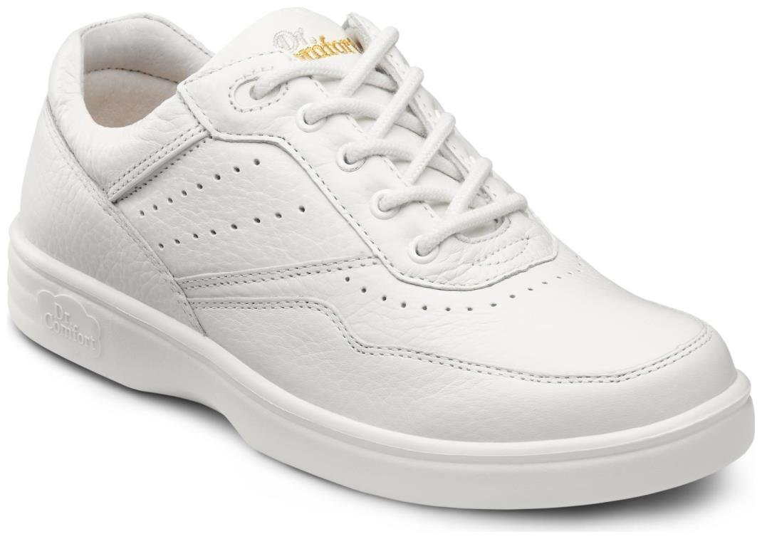 Dr. Comfort Patty Women's Therapeutic Diabetic Extra Depth Shoe: White 9.5 X-Wide (E-2E) Lace