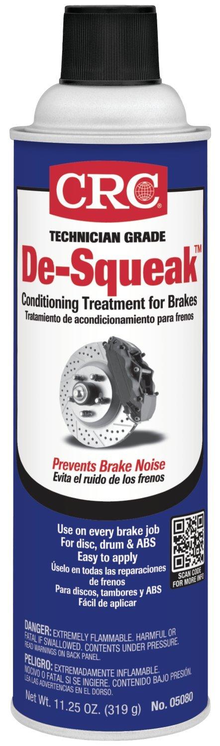 CRC 05080 De-Squeak Brake Conditioning Treatment - 11.25 Wt Oz (4) CRC Brakleen