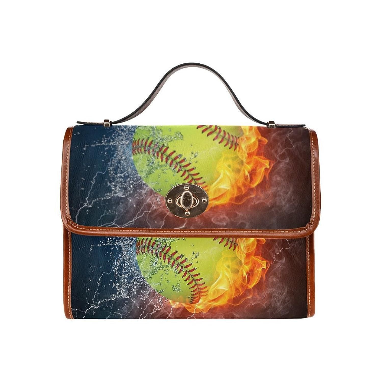 D-Story Custom Firing Baseball Canvas Bag Tote Bag Handbag