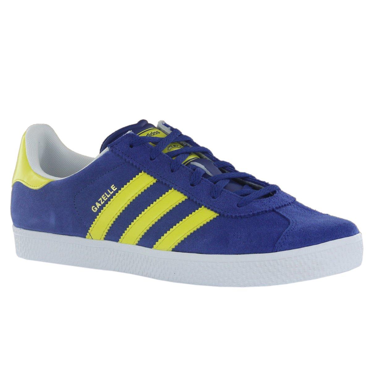6569c767472f Adidas Gazelle 2 Blue Yellow Youth Trainers Size 3.5 UK  Amazon.co.uk   Shoes   Bags
