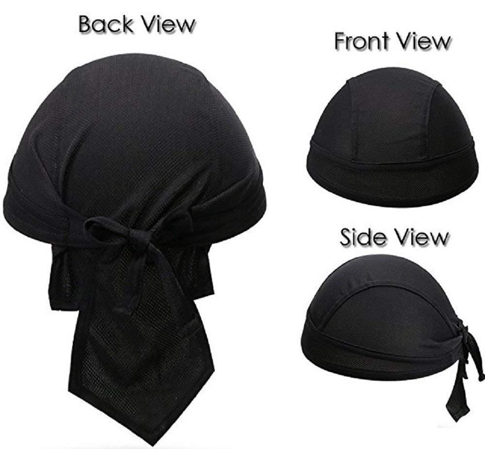36b5c1677c8 fantastic me Outdoor Sport Cycling Running Dew Rag headwrap Cooling Skull  Cap Hat