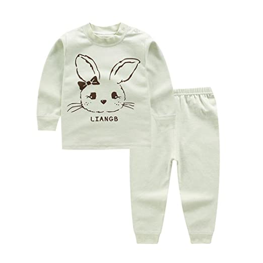 9fb487988 Amazon.com  New Color Cotton Underwear Suit Baby Long-Sleeved  Clothing