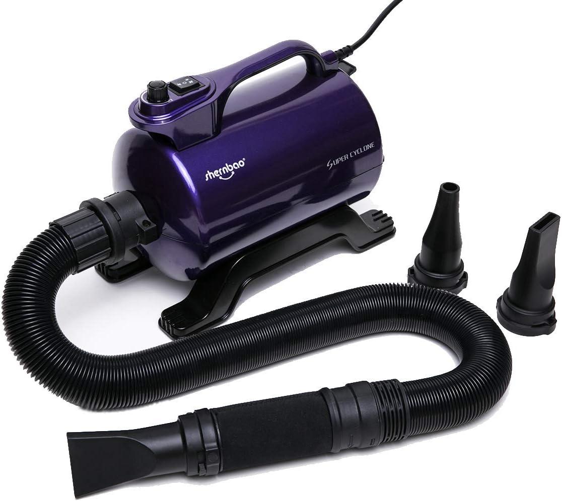 shernbao High Velocity Professional Dog Pet Grooming Hair Force Dryer Blower 5.0HP (Super Cyclone) SHD-2600P