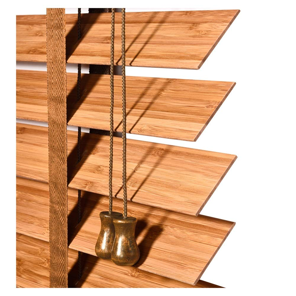 ZEMIN ヴェネツィア ウィンドウブラインド 防水 調査 リフト可能な 竹、 内側と外側 インストール、 サイズ カスタマイズ可能、 2色 (色 : A, サイズ さいず : 140x225cm) 140x225cm A B07LD3BGSF