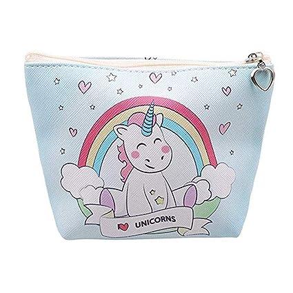 Dosige. Monedero Monedero con diseño de Unicornio Bolso para ...