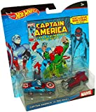 Best Hot Wheels Book For 3 Year Old Boys - Hot Wheels Marvel Captain America vs. Red Skull Review