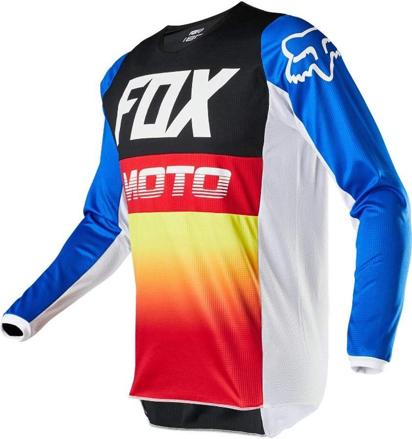 M//34-BL//RD Fox Racing 180 Fyce Jersey//Pants Set-