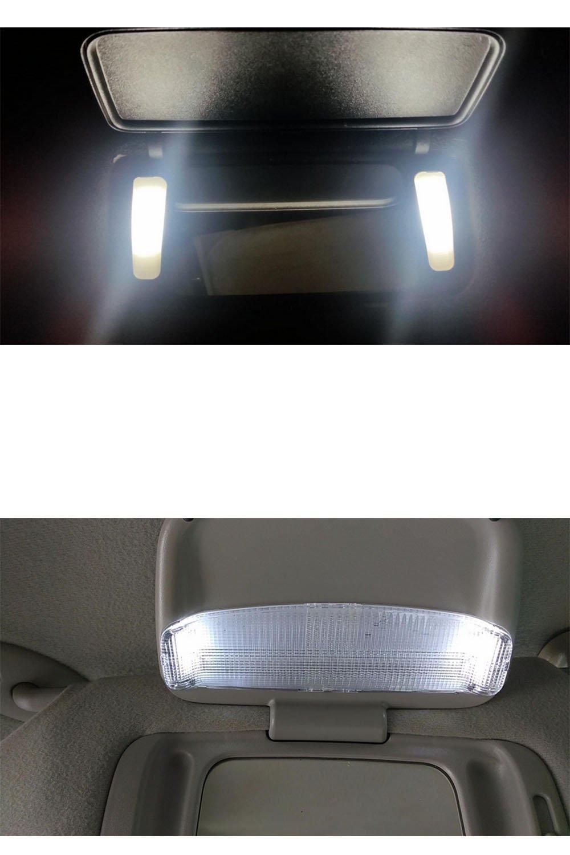 Blue AMAZENAR 20-Pack 50 Lumens Blue 28MM 1.1 - 31MM 12V LED Festoon Light 5050 3-SMD Sun Visor Vanity Mirror LED Bulbs for Vehicle 6615F 6614F 3021 3022 3175 T-2 SF6//6 1.25