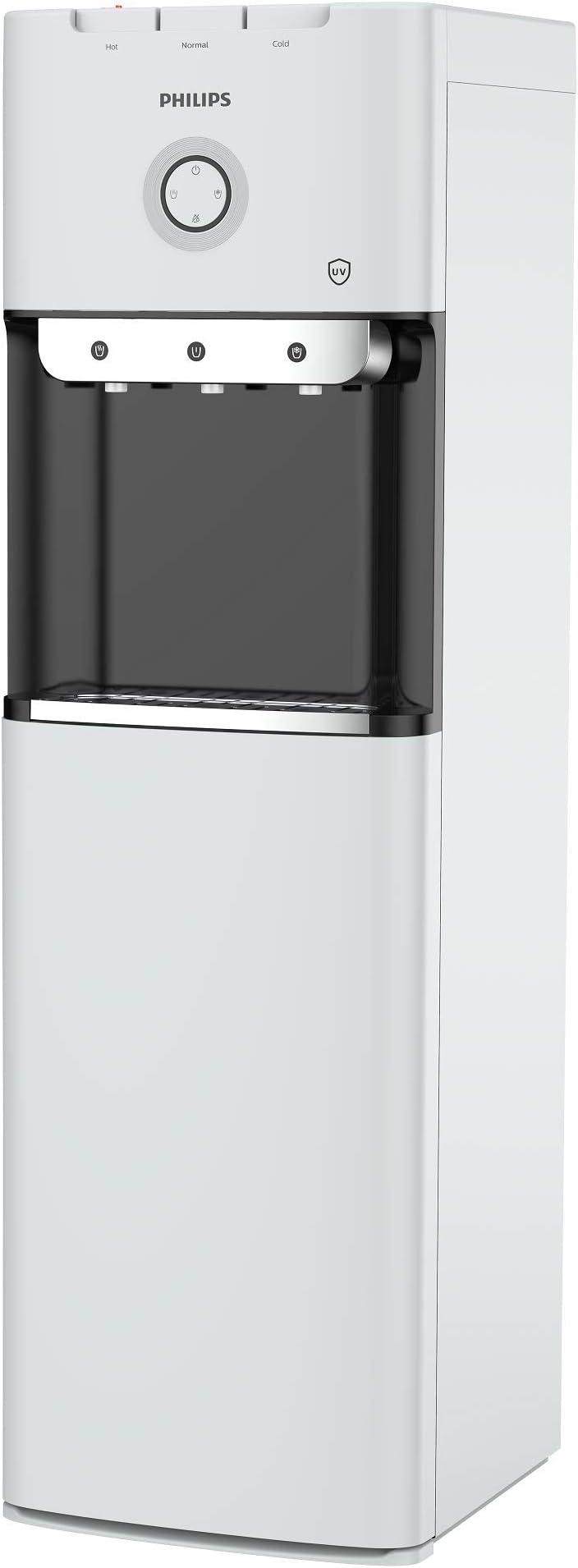 فيليبس مبرد مياه، ساخن، بارد، عادي، 500 واط، أبيض/أسود