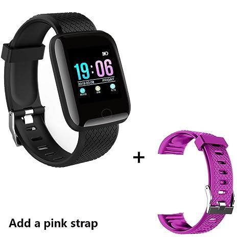 wojiaxiaopu Smart Watch Hombres Presión Arterial Impermeable ...