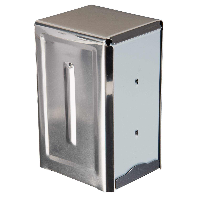 Update International ND-7 Stainless Steel Napkin Dispenser, White
