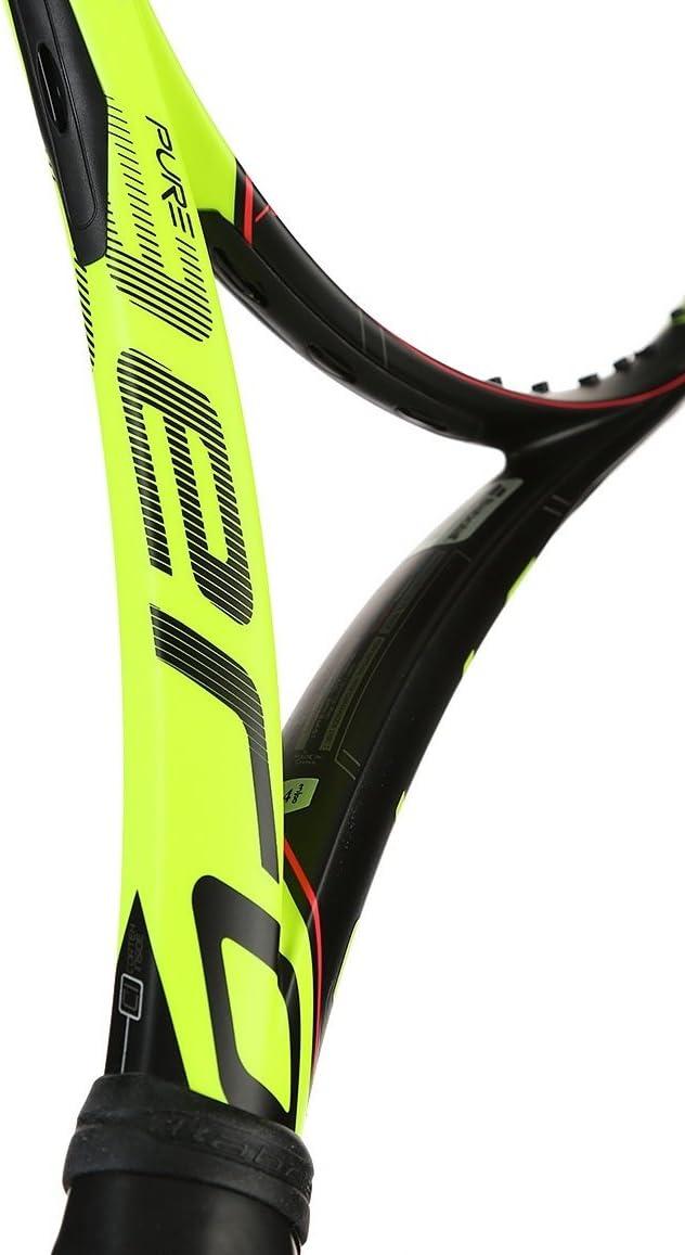 Amazon.com : Babolat Pure Aero Tour Yellow/Black Tennis ...