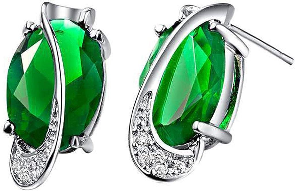 JewelleryClub 925 Plata Swarovski Elements Crystal Egg en forma de pendientes de perlas para las mujeres