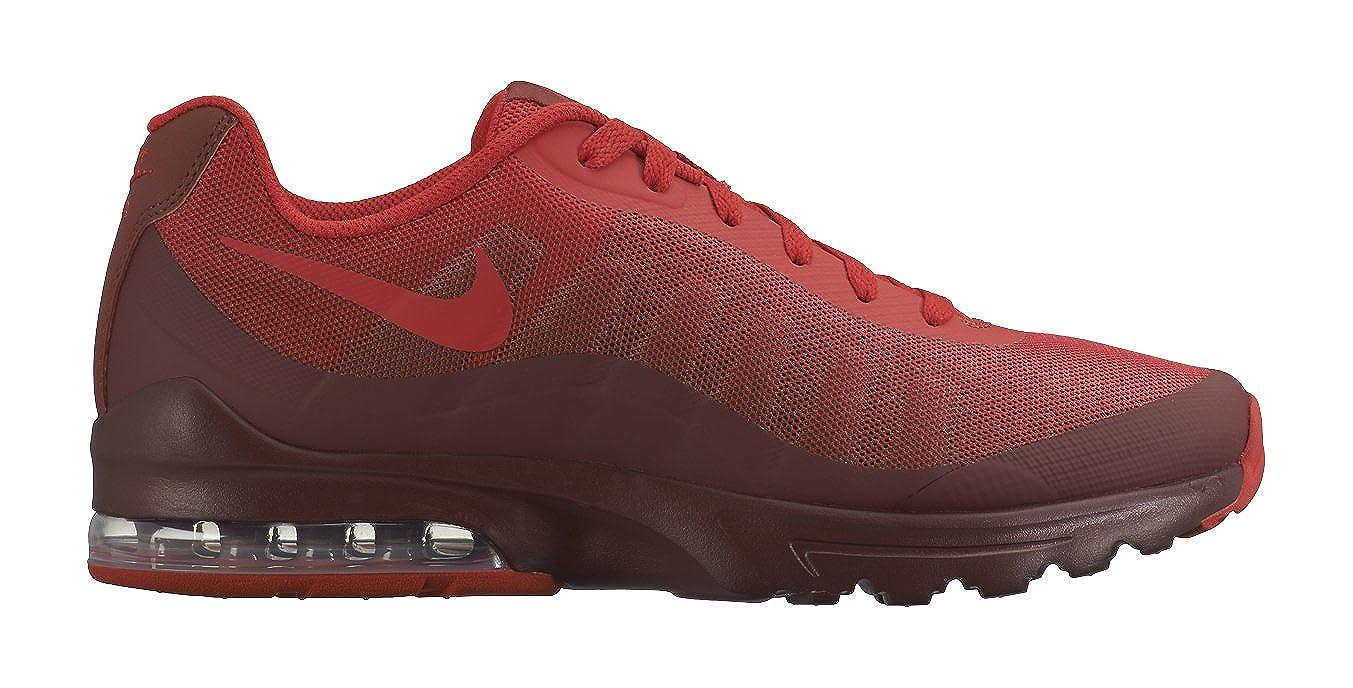 sale uk hot sale buy online NIKE Men's Air Max Invigor Print Running Shoes, Red/Black ...
