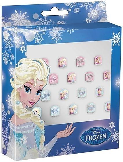 Caja uñas postizas de Frozen: Amazon.es: Juguetes y juegos