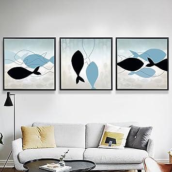 Wohnzimmer-Sofa dekorative Wandbemalung Wandmalereien der ...