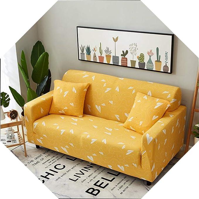 Amazon.com: AHBH Funda de sofá elástica, funda de sofá ...