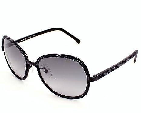 353f07c90dd4 Lacoste sunglasses L 116 S 001 Acetate plastic Black Grey Gradient ...