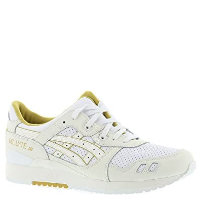 8f09e03da911 Image Unavailable. Image not available for. Color  ASICS Gel Lyte III White  Cream ...