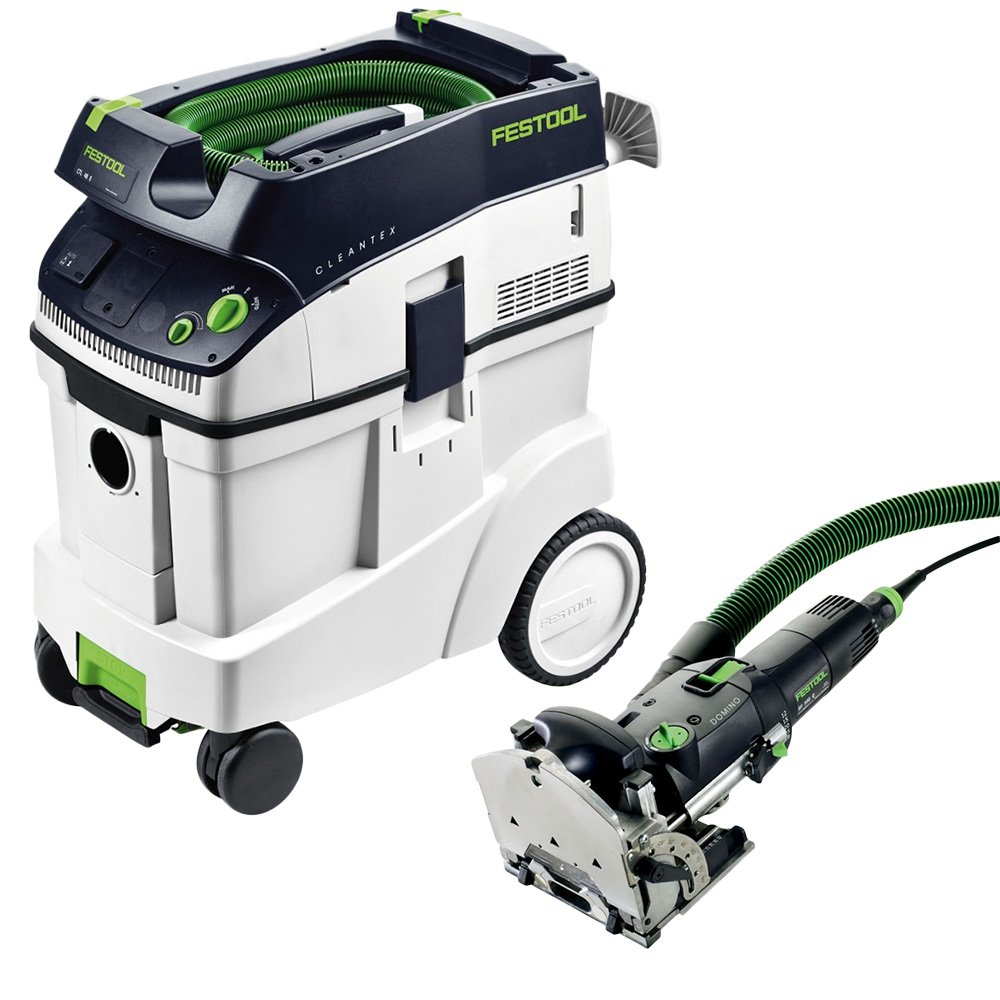 CT 48 Dust Extractor Package Festool DF 500 Q Domino with T-LOC