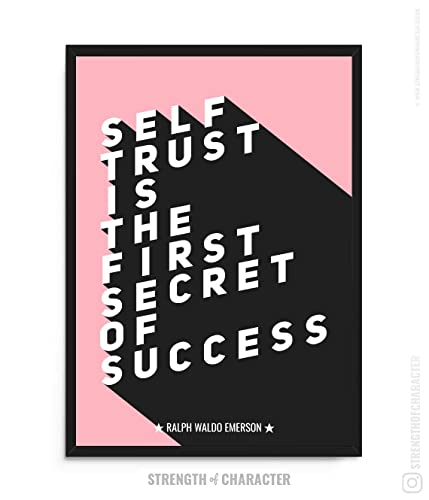 Emerson Quote Poster Exclusive Handmade A3 Unframed Ralph Waldo