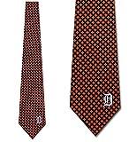 Detroit Tigers Mens Diamante Necktie by Eagles Wings