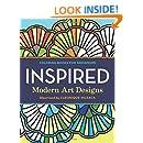 Coloring Books For Grownups Inspired Modern Art Designs