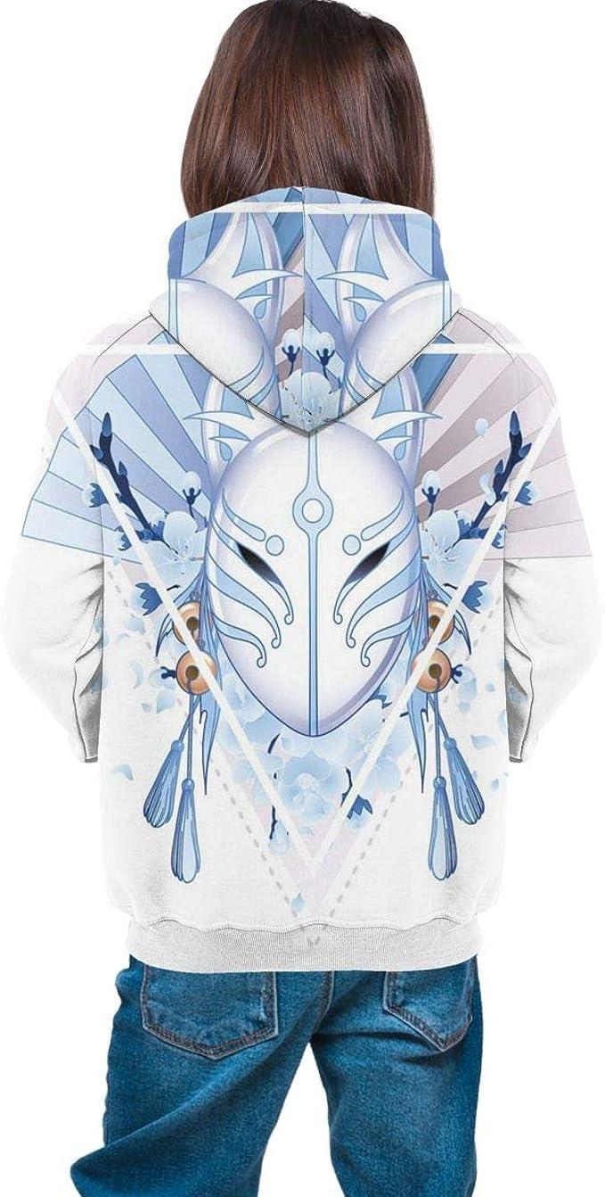 Unisex 3D Novelty Hoodies Floral,Hand Drawn Petals Dots,Sweatshirts for Women