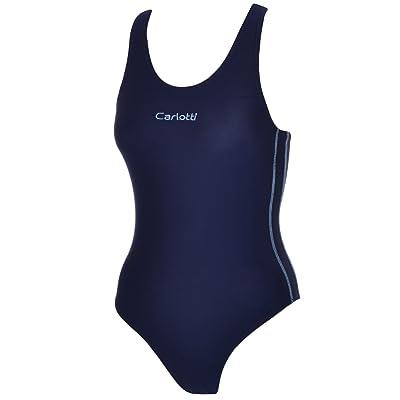 Carlotti Youths Swim Costume - Navy
