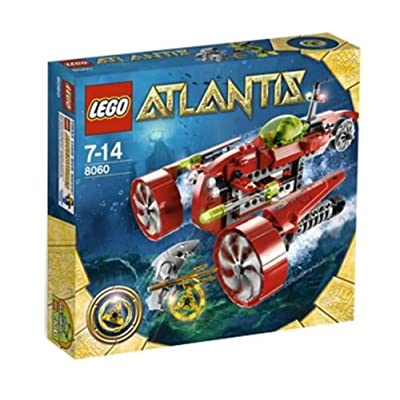 LEGO Atlantis Typhoon Turbo Sub Set 8060: Toys & Games