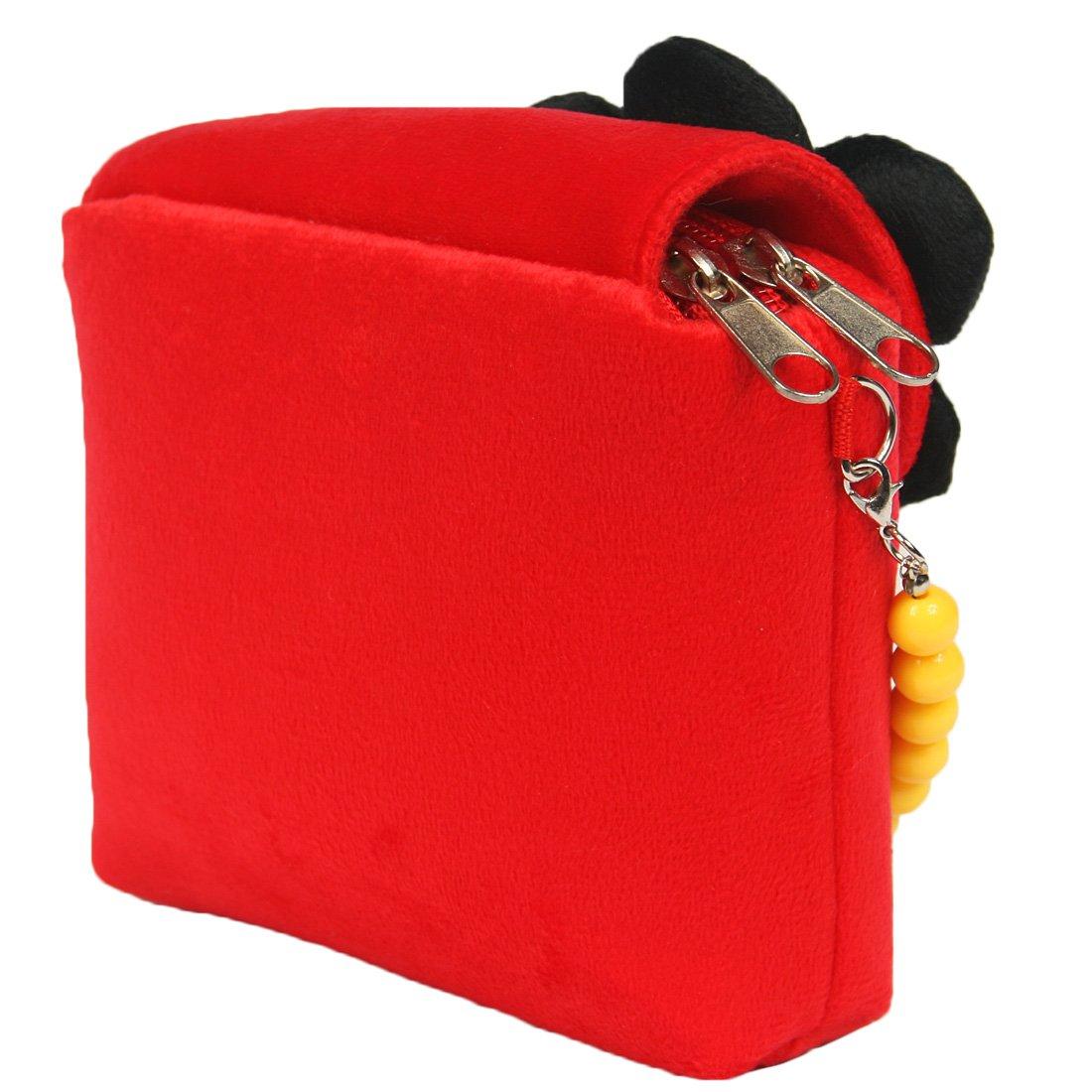 molletta per capelli con grande rosa bracciale Kilofly collana borsetta in peluche per bambini