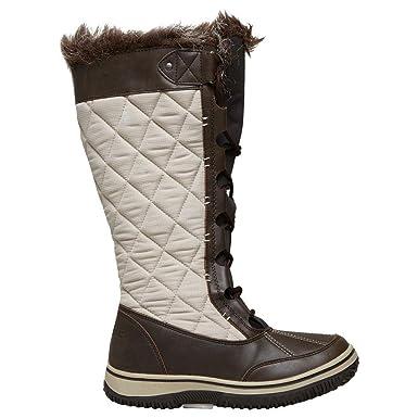 Alpine Womens Brundall Snow Boot Outdoor Schuhe Schuh Braun, Braun, 36