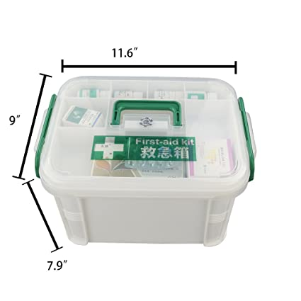 Grooming & Healthcare Kits Baby Medical Healthcare Kit Family First Aid Case Multi Drug Food Box Children Baby Care Plastic Storage Organizer Set Case Factories And Mines