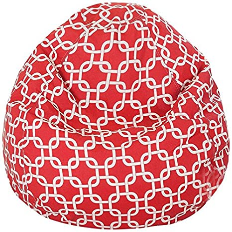 Swell Buy Chain Link Design High Quality Hd Printed Bean Bag With Andrewgaddart Wooden Chair Designs For Living Room Andrewgaddartcom