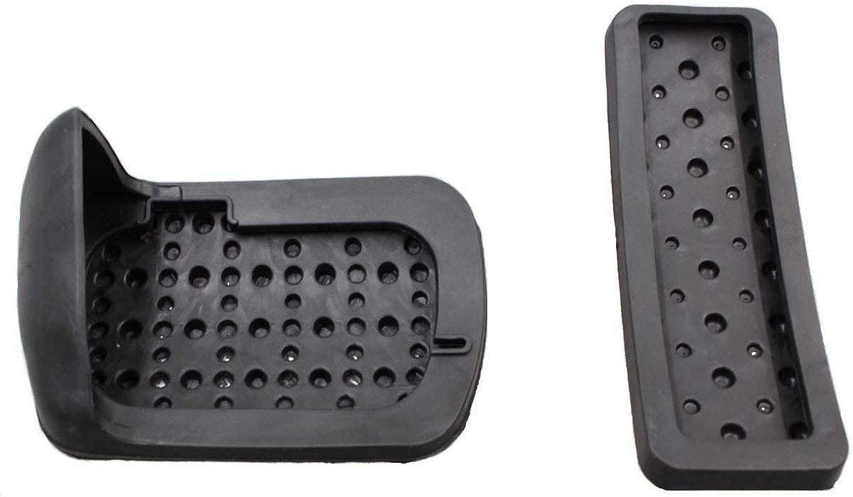 wurthroad Sport Pedal Cover Compatible with Mercedes Benz A B CLA GLA ML GL R Class Accessories No Drill Steel Brake Gas Accelerator Throttle Cap
